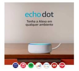 Vendo Amazon Echo Dot (3a Geração) Alexa.