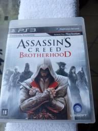 Jogo original para PlayStation 3 - Assassin's Creed Brotherhood