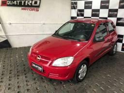 Título do anúncio: Chevrolet Celta 1.0 Vermelho (Financio 100%) c/ Direção Hidráulica