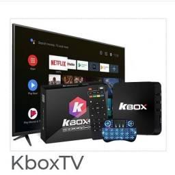 KBOX TV NA CAIXA