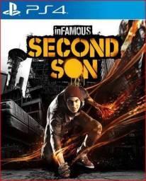 Jogo ps4 Infamous Second son