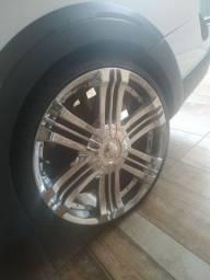 Vendo roda cromada 20