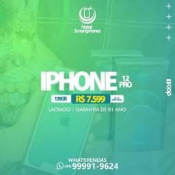 IPHONE 12 PRO AZUL DOURADO OU BRANCO - 128GB ( GARANTIA 1 ANO, LACRADO )