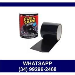 Título do anúncio:  Fita Adesiva Para Reparos Black Cola Flex Tape 10cm x 150cm