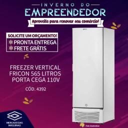Título do anúncio: Freezer vertical Fricon 569L 110v porta de aço Novo Frete Grátis
