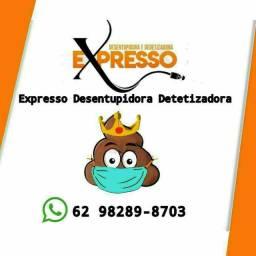 Título do anúncio: Desentupidora *..%$@ a melhor de Goiânia....