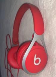 fone Beats EP vermelho novo