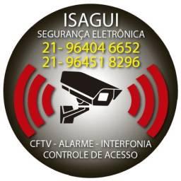 Instalação e manutenção Segurança Eletrônica - Isagui Sistemas