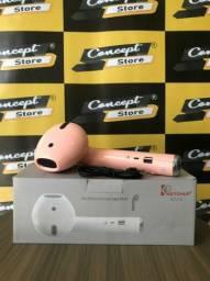 Título do anúncio: Som Bluetooth Airpods Rosa (NOVO) PROMOÇÃO