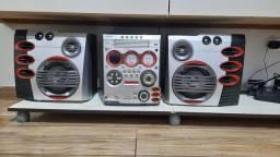 Miny System Philips 6500W PMPO e 400W RMS