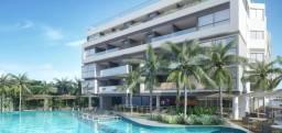 Lançamento! Apt. 3 quartos em um Resort beira mar de Ponta de Campina