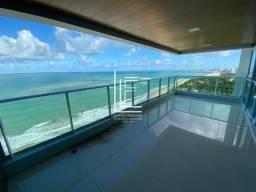 Título do anúncio: Cobertura nova na beira mar da praia guaxuma - Vista total e ampla para o mar