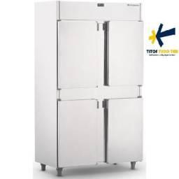 Geladeira comercial inox 4 portas refrimate