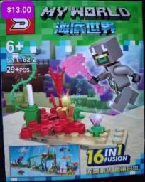 Minicraft blocos de montar Similar ao lego