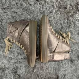 Sneaker Cravo e Canela