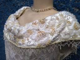 vestido casamento bordado