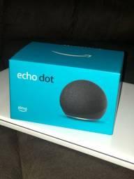 Echo dot 4 Nova Lacrada com nota