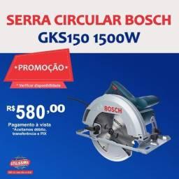 Título do anúncio: Serra Circular Bosch GKS150 1500W