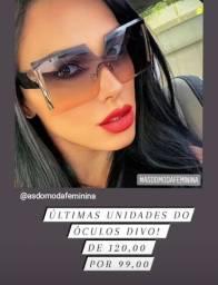 Óculos de luxo