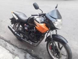 Título do anúncio: Moto apache 150 moto todo revisado partida só no pedal