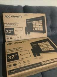 SMART TV AOC 32 POLEGADAS NOVA