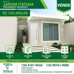 Título do anúncio: Terreno e Construção - Jardim Itatiaia ( 50 m²)