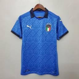Título do anúncio: Camisa Seleção Itália 2021 - Camisas de time futebol a pronta entrega