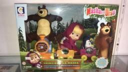 Título do anúncio: brinquedo masha e urso