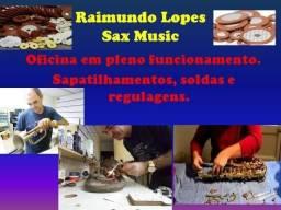 Sax, Clarinete, Flauta, trompete e outros. Manutenção/Sax Music