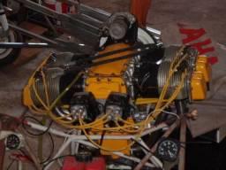 Motor avião ultraleve experimental