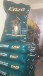 Promoção de ração Enzo de 50 reais 15kl