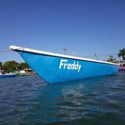 Oportunidade Barco NOVO 7,45 metros Pronto para Usar Motor a Diesel - 2019