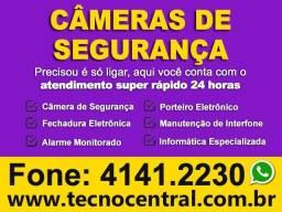 Câmeras de Segurança e Alarme