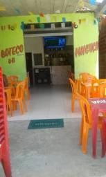 Bar e restaurante. Centro a 100 m da praia