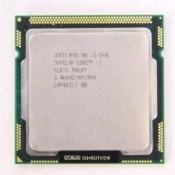 Processador Intel Core I3 540 1156 Computador Placa Mãe