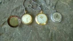 Relógios de bolso antigos