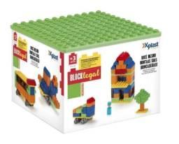 Bloco Brinquedo P/ Montar Block Legal 44 Pcs Homeplay Xplast