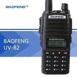 Radio Comunicador Ht Baofeng Dual Band Uv-82 Rádio Fm + Fone comprar usado  São Bernardo do Campo