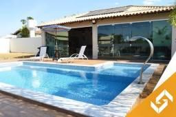 Maravilhosa casa c/4 suítes todas c/ar, piscina e mesa de sinuca; em Caldas Novas