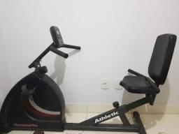 Bicicleta Horizontal Profissional Ergométrica