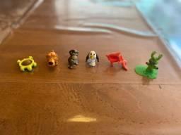 Mini Brinquedos Diversos com 6 Unidades - Tudo Junto
