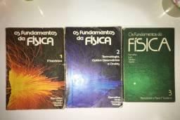 Os fundamentos da física 1, 2 e 3