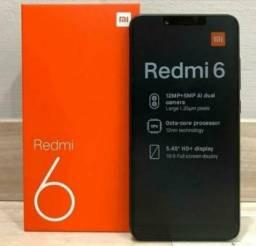 !! OFERTA!! Xiaomi Redmi 6 64 GB +4 Ram (LOJA FÍSICA)