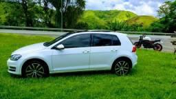 Golf TSI turbo teto solar panorâmico automático top de linha!!! - 2014