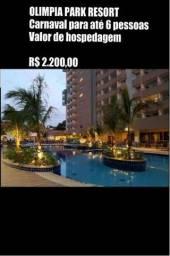 Promoção - Carnaval - Olímpia Park Resort