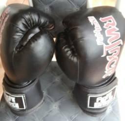 Luva e caneleira para boxe tailandês G