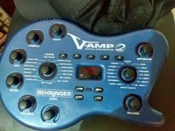 Pedaleira Semi-Nova V-Amp 2 Behringer
