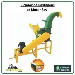 Direto de Fabrica - Picador M-600 com Motor - Agromaquinas Online