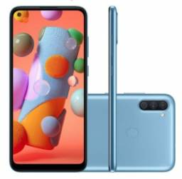 Smartphone Samsung Galaxy A11 64GB Dual Chip - Azul - Com nota fiscal