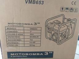 VENDO MOTOBOMBA A GASOLINA NOVA